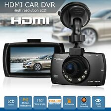 "1080p HD DVR Cámara en Tablero 2.7"" LCD coche cámara de visión nocturna de panel de control de Reino Unido Sensor G"