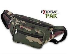 ExtremePak Invisible Waist Bag Camo Water Resistant Fanny Pack Camouflage