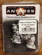 Beyond The Gates Of Antares: Freeborn Support Team w/Mag Light support