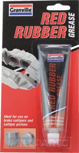 Granville Red Rubber Grease Lubricant Brake Caliper Piston Hydraulic 70g