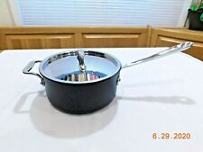 ALL CLAD METALCRAFTERS 3 QT SAUCEPAN NONSTICK INDUCTION USA