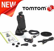 TomTom Apple iPhone 4S 4 3GS 3G Bluetooth manos libres para coche Kit soporte montaje de altavoz