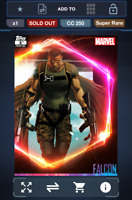 Topps Marvel Collect! Falcon Ultimate Universe 1ST PRINTING   DIGITAL
