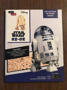 Star Wars R2-D2 Collectible 3D Wood Model