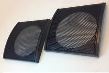 "1 PC - 5-1/4"" SPEAKER GRILL CLASSIC PLASTIC DESIGN - SQUARE FITS 5-1/4"" # ZSPG5D"