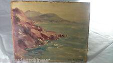 Peinture Noel Delaunay. Painting signed Noel Delaunay cote++