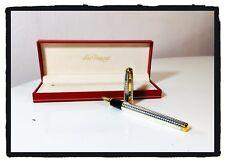 Penna stilografica Vintage Fountain Pen S.T. DUPONT FIDELIO  Palladium  90' 🖋✒️