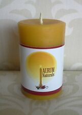 "Handmade 100% Beeswax Candle - 3"" column pillar"