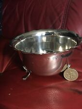 Beautiful large Solid Silver Sugar Bowl London Assayed 1901