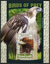SOLOMON ISLANDS 2016 BIRDS OF PREY  SOUVENIR SHEET MINT  NEVER HINGED