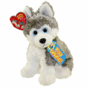TY Beanie Baby - SLEDDER the Husky (6.5 inch) - MWMTs Stuffed Animal Toy