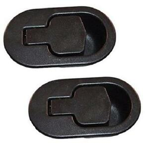 2 x Black Sofa Handle Lounge Recliner Chair Couch Release Lever Replacement AU