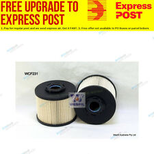 Wesfil Fuel Filter WCF231 fits Ford Focus LW 2.0 TDCi