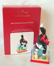 Hallmark 2020 MISCHIEVOUS KITTENS Ornament, 22nd in Series