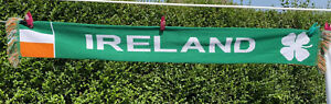 Ireland /Eire Scarf 100% Acrylic Irish  Made By Sports Scarf Football/National ?