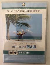 'Just Relax Maui' Shine - Jubilant - Heart DVD & CD Lifescapes (2006) Brand New