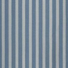 AU MAISON Wachstuch Stripe Big Denim Dusty Blue beschichtete Baumwolle 0,5Meter
