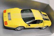 Ferrari 512 BB 1:18 Limited Edition Italia Club Chrono Gelb NEU OVP America