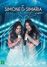 SIMONE & SIMARIA DVD = LIVE Ao Vivo 2016 SERTANEJO Bruno Marrone Jorge e Mateus