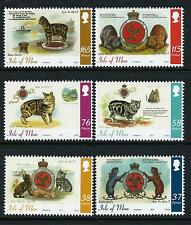 2011 ISLE OF MAN TALES OF TAILLESS MANX CATS SET OF 6 FINE MINT MNH/MUH