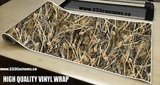 "CAMO 20 FT ROLL VINYL MATTE WRAP 24"" TALL GRASS DUCK HUNTER BOAT ATV C7M"
