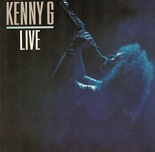 KENNY G : LIVE / CD - TOP-ZUSTAND