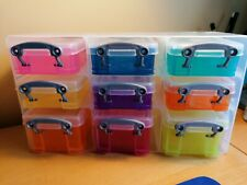 Really Useful Box - Desk Tidy Stack Of 9 Lidded Boxes