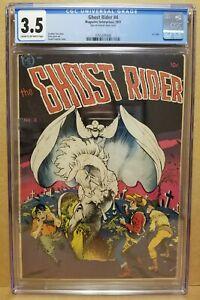 GHOST RIDER #4 CGC 3.5 (VG-) CLASSIC FRANK FRAZETTA COVER 1951 RARE