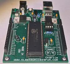 Propeller Charlie - Propeller Microcontroller board