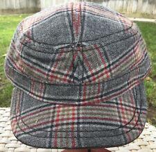 STETSON VIRGIN WOOL BLEND XL 61cm 7 5/8 CADET/MILITARY HAT GRAY RED BLACK BROWN