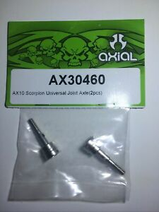 Axial # AX30460 ~ Universal Joint Axles (2) for AX10 Scorpion