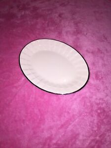 Springs Elegant Gold Trim Soap Dish ~ Sold By Linens & Things EUC