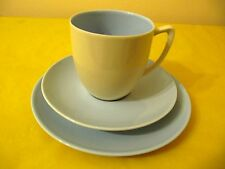 More details for branksome cream&blue trios (side plates&cups&saucers), used   (0.45/136)