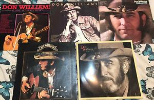 "Job Lot Of 5 Don Williams 12"" LP Vinyl Records"