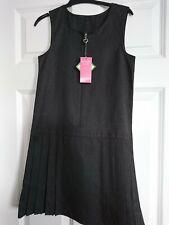 School pinafore Girls Dress Age 8-9 Years Grey BNWT