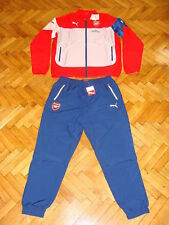 Arsenal Leisure Soccer Tracksuit England Puma Football Presentation Suit Gunners