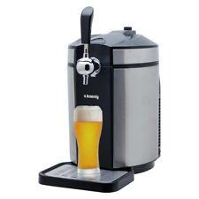 H.KOENIG Distributeur de bière cooler pour tous universel 5 L acier inox