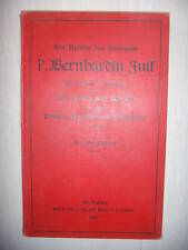 Alsace: Bernhardin Juif: Apostel des Sundgaus, Blotzheim, 1897
