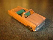 Old Vtg Antique Lesney Matchbox #39 Ford Zodiac Convertible Toy Made In England