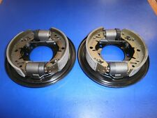 Rover Mini Fully Built FRONT Brake Back Plates (Drum Brakes) - Genuine Parts!