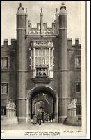 ~1910/20 Hampton Court Palace Gateway to Base Court AK