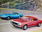 1968 Chevy Corvettecamaro Ssrsz28 Original Ad 327396427v8decaldoorhood