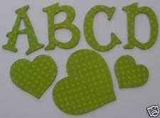 Bo Bunny Double Dot *KiWi* Chipboard Letters
