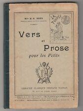 Vers et prose pour les petits Henriette-Suzanne Brès 1902
