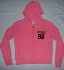 Victorias Secret PINK signature full zip hoodie sweatshirt Size L Jrs Womens