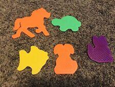 Perler® Beads 5 Animal Shape Pegboards - Dog, Horse, Fish, Turtle, Cat