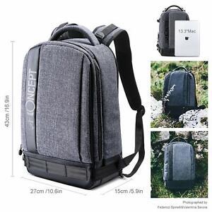K&F Concept Kamerarucksack Fotorucksack wasserdicht für Canon Nikon Sony DSLR