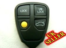 for VOLVO S60 V70 S80 XC70 XC90 4 Button Remote Key FOB Case Shell UK SELLER