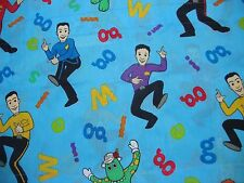 Wiggles Curtain Valance Blue Jeff Dorothy Murray Greg Anthony Disney Channel