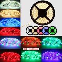 Wholesale 5M 3528 5050 RGB SMD LED Roll Strip Light 12V Waterproof + Controller